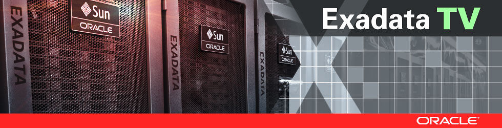 Oracle Exadata TV - Meer informatie over Oracle Exadata - Het beste platform voor OLTP, Data Warehousing en Database Consolidatie